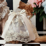 Hundekleid PRINCESS champagne