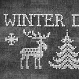 Hundebett 'WINTER DREAMS'