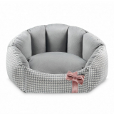 Hundebett TIFFY BLUE pink (Gr.M)