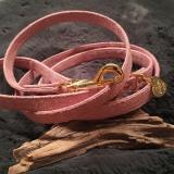 Hunde-Halsband 'DIAMONDS' rosé