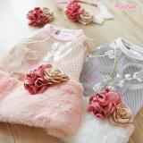Hundekleid FLORETS rosé