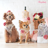Hunde-Collier 'FLORETS NECKLACE'