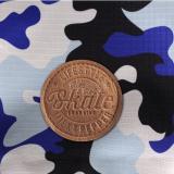 Hunde-Regenjacke 'TRICKS' camouflage blau
