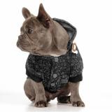 Hundesweater 'MONGO' dunkelgrau