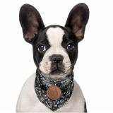 Hunde-Halstuch 'BOOGIE' dunkelgrau