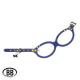 Buddy Belt Luxury 'EMBLEM' blue