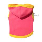 Top Melba mit Kapuze, pink