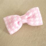 Hunde-Haarspange Pepita rosa