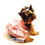 Hundekleid Madeline rosé (Gr.XXS,L)