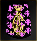 Audigier Hundeshirt Fleur de Lis pink XS