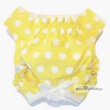 Schutzhöschen Sunny gelb-weiß (Gr.XXS,S)