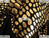 Schutzhöschen 'Shiny' schwarz-gold (Gr.XXS,L)