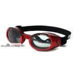 Hunde-Sonnenbrille Shiny Red rot