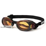 Hunde-Sonnenbrille Flames schwarz