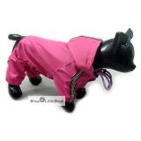 Hunde-Regenanzug Pink Jumper pink