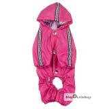 Hunde-Regenanzug 'Pink Jumper' pink (Gr.XXS,XXL)