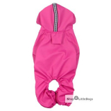 Hunde-Regenanzug 'Pink Jumper' pink
