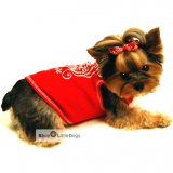 Top Puppy Love rot (Gr.XXS,XS,L)