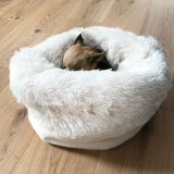 Cuddle Bed Snow weiß