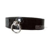 Hunde-Halsband Onyx schwarz
